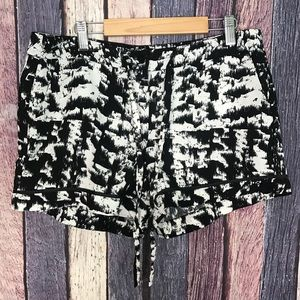 Cynthia Rowley Patterned Shorts Lightweight 6/S